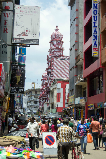 Pettah Markets in Colombo